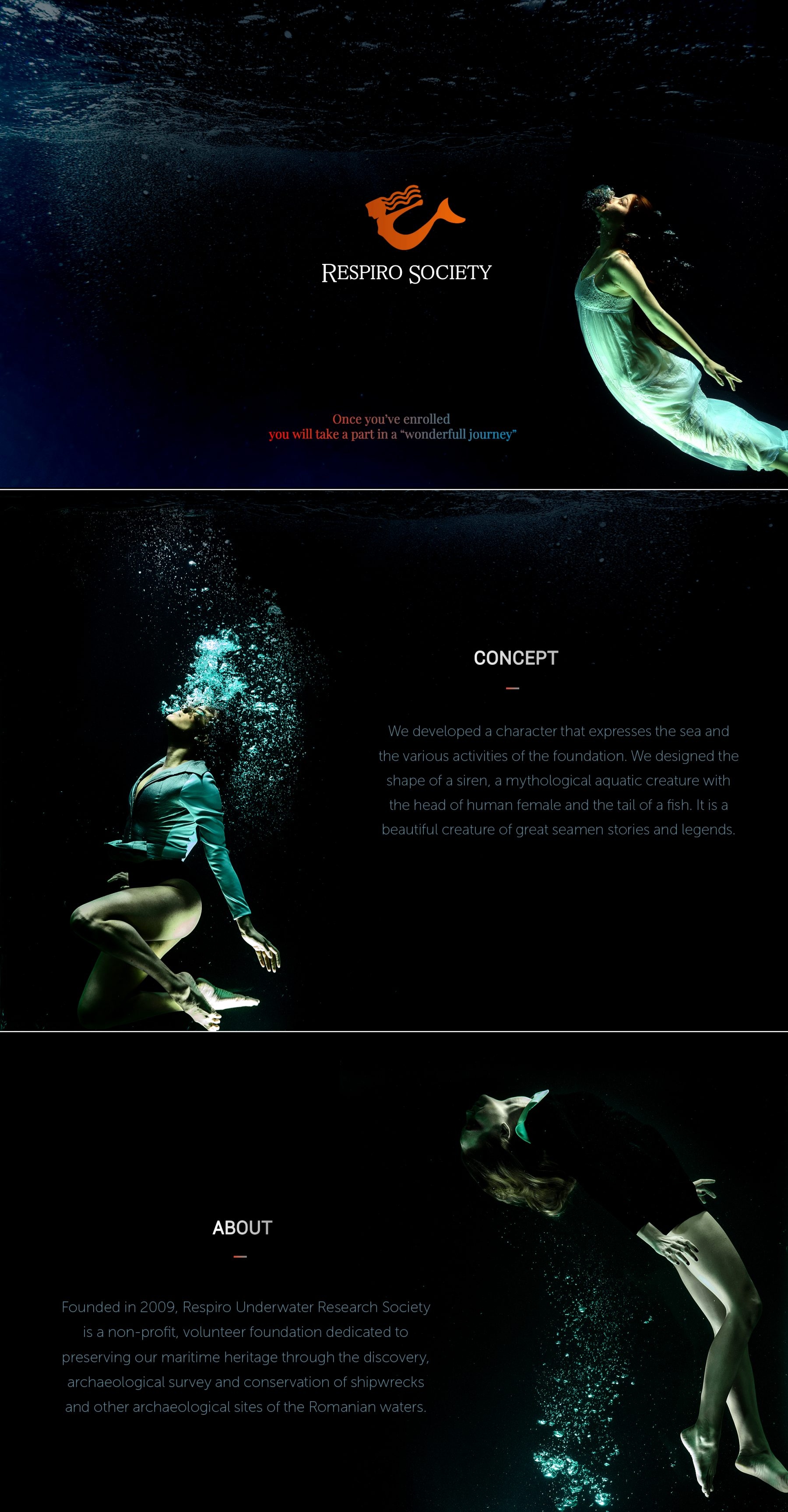 Respiro, Underwater, Research, Society, non-profit, volunteer, foundation, dedicated, researching, documenting, preserving, habitat, components, divers, archaeologists, scientists, explore, marine past, team
