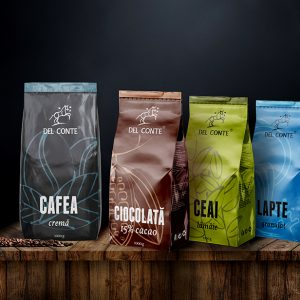 Del Conte Design Eticheta Cafea