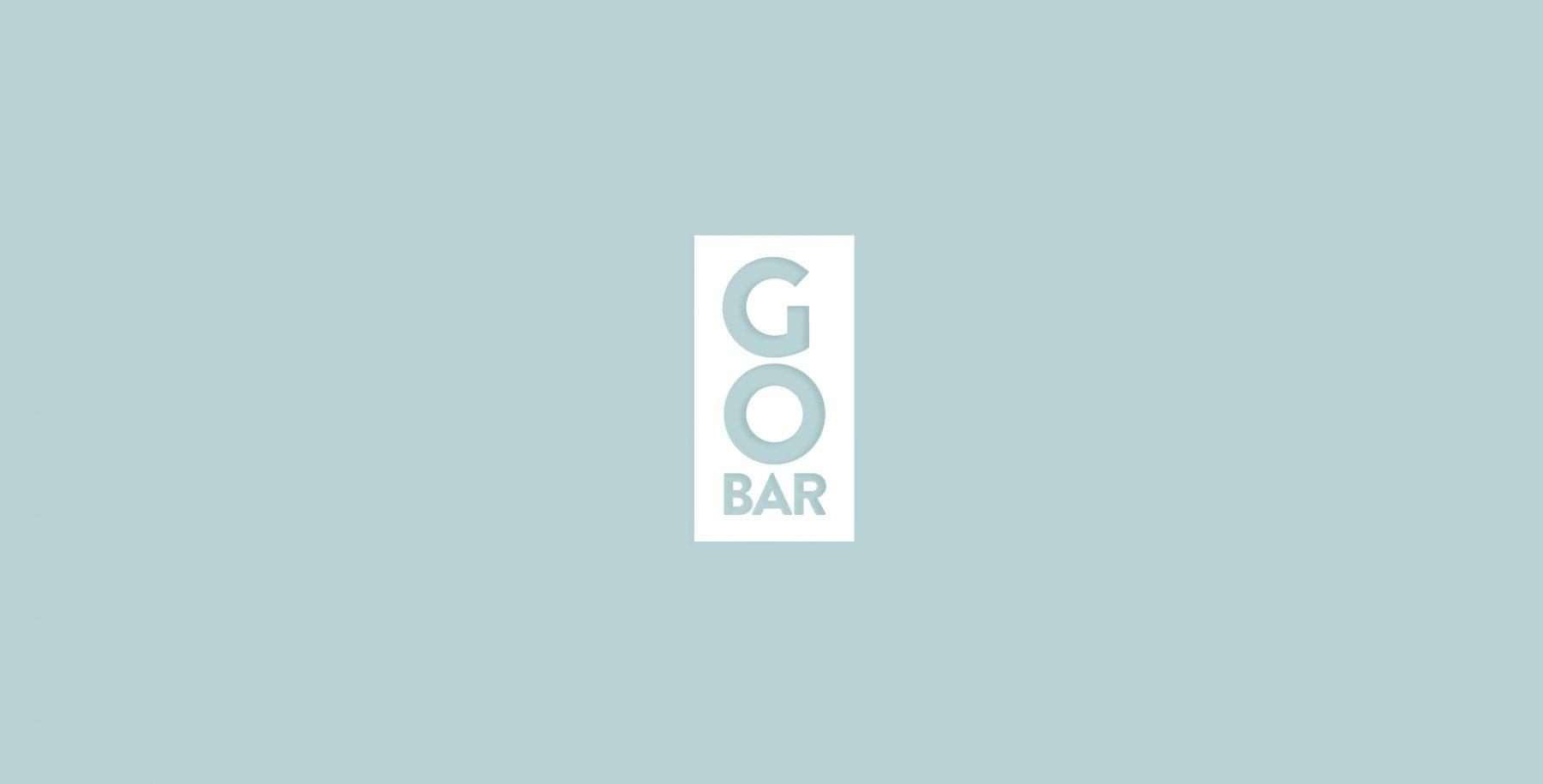 Go Bar baton proteic logo design BroHouse