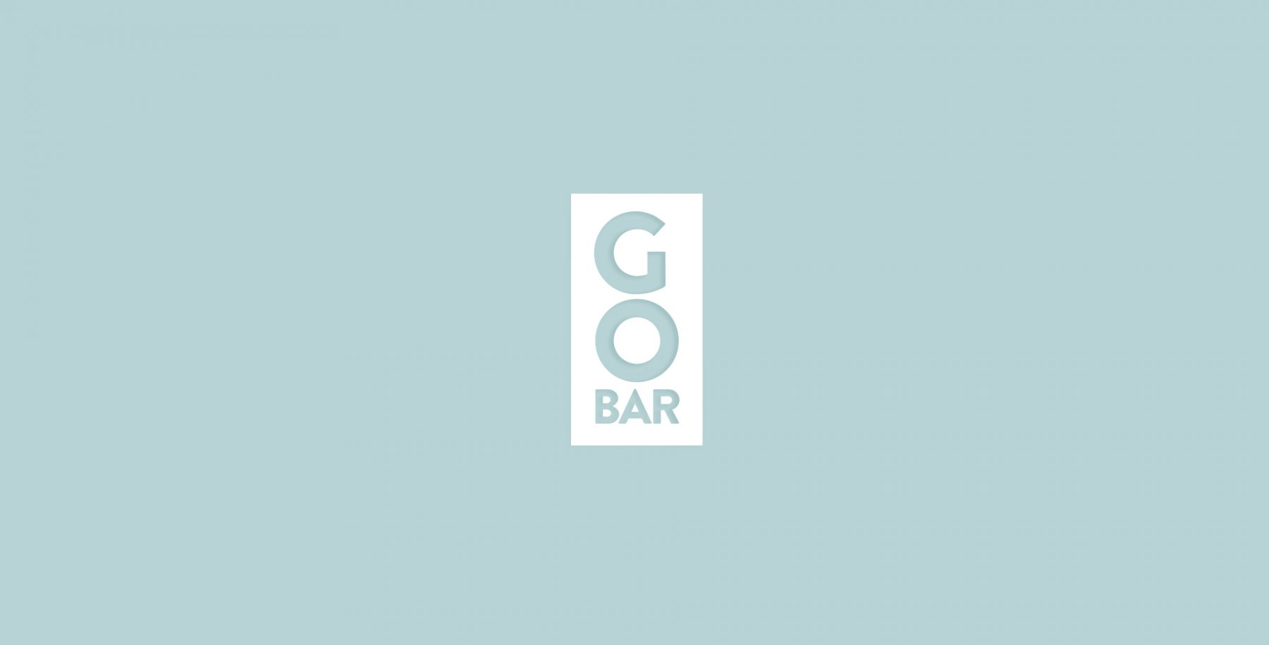 Go Bar logo design