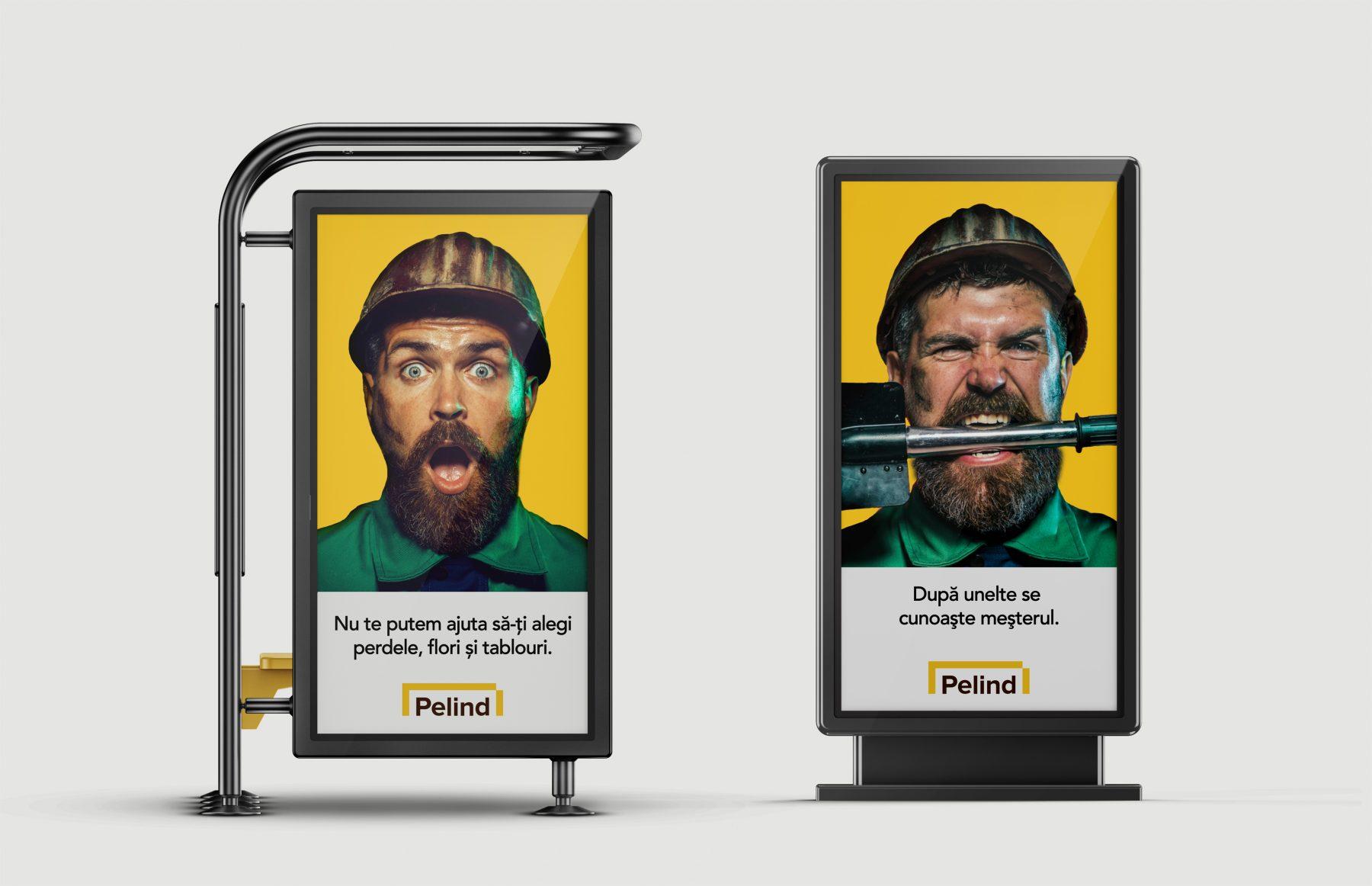 Pelind citylights rebranding outdoor campaign