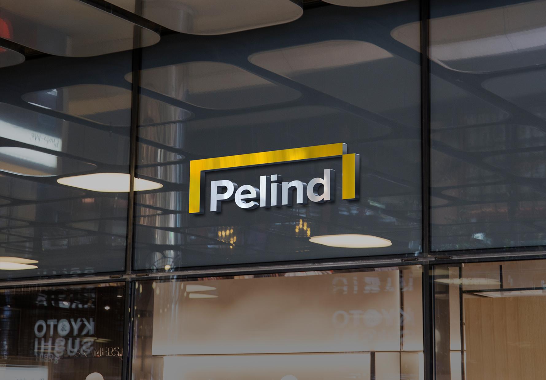 Pelind Logo Building Exterior 3D