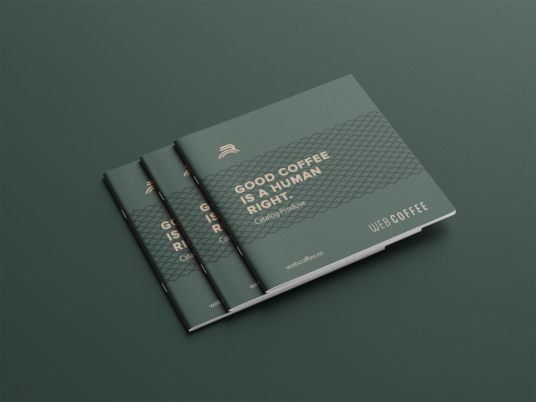 Web Coffee Catalogue Design