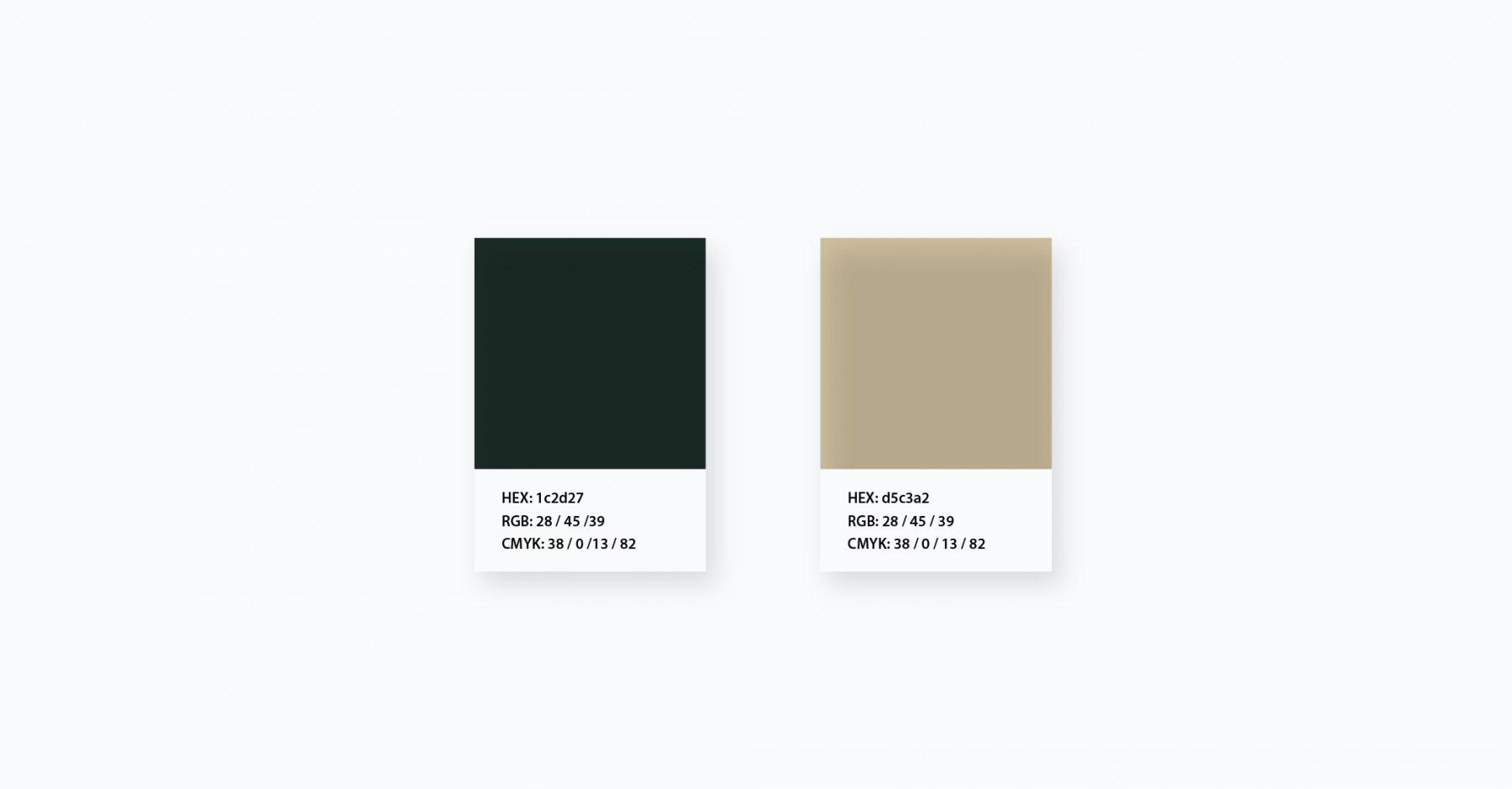Web Coffee Color Palette