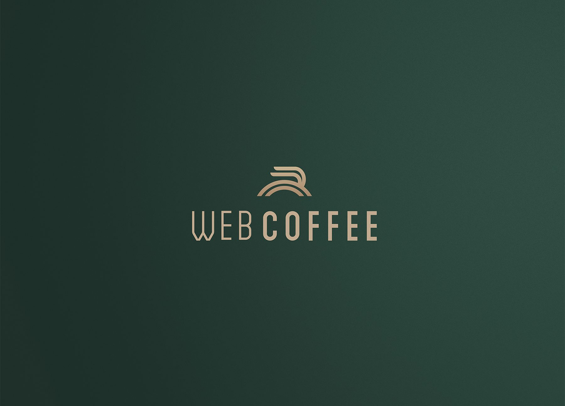 Web Coffee Logo design