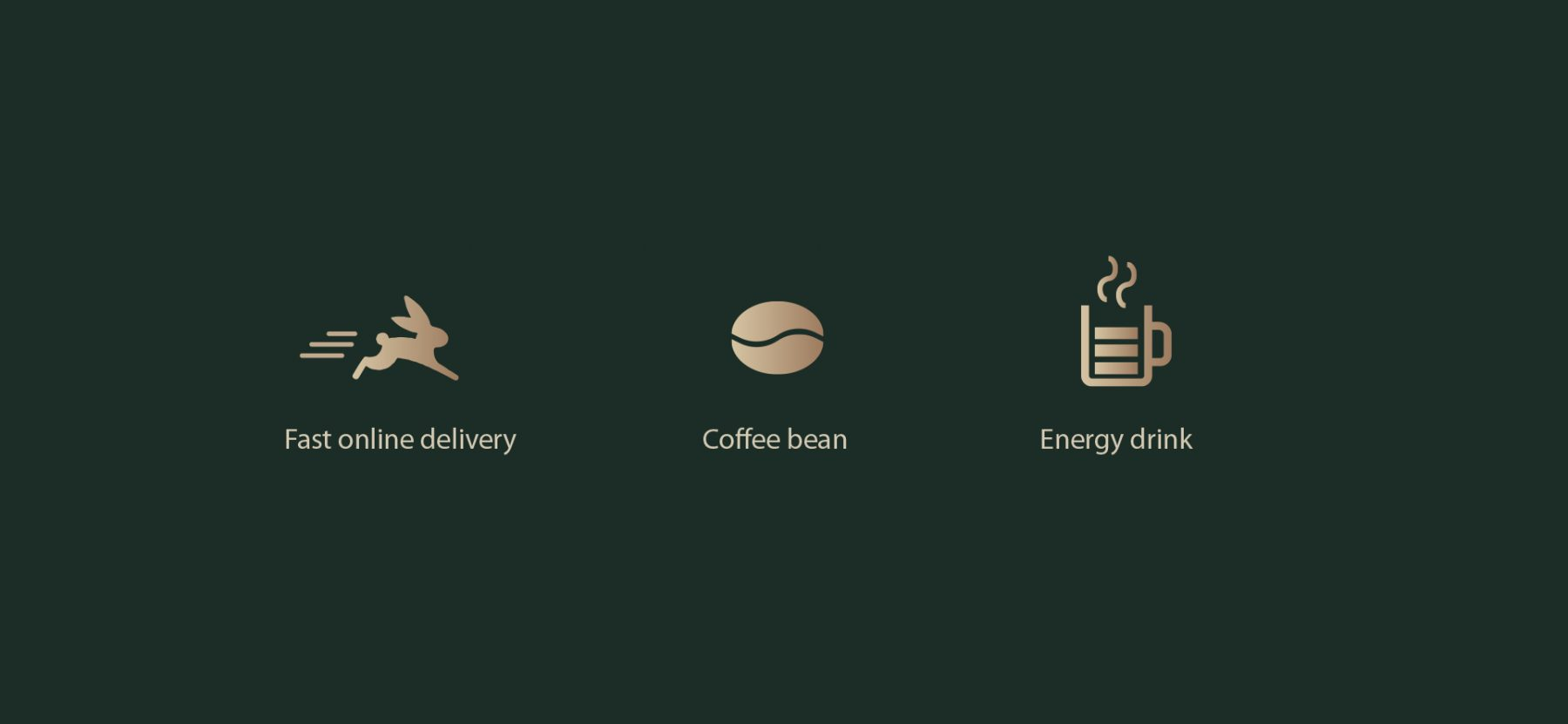 Web Coffee Logo Concept