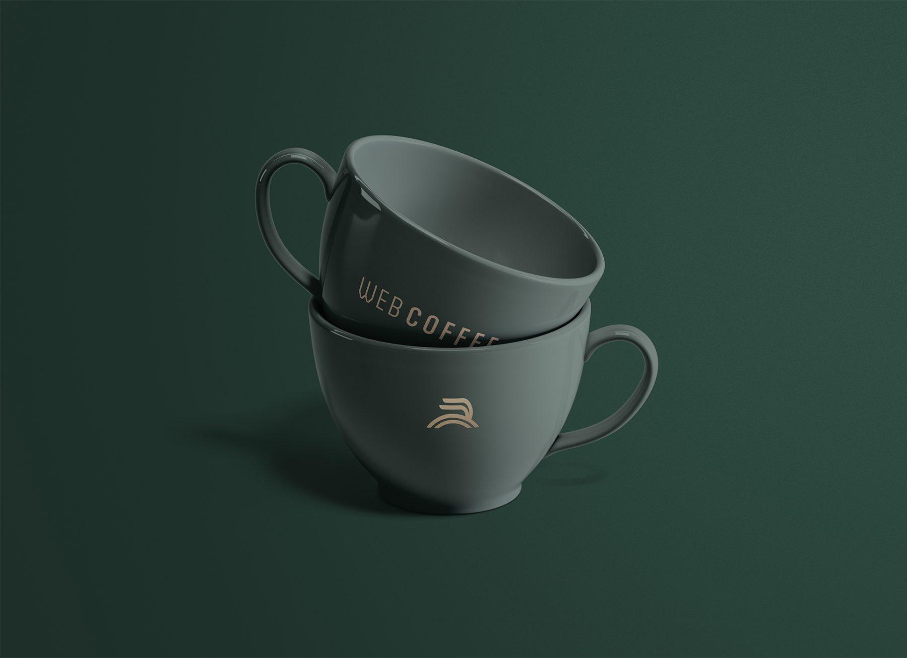 Web Coffee Mug Design