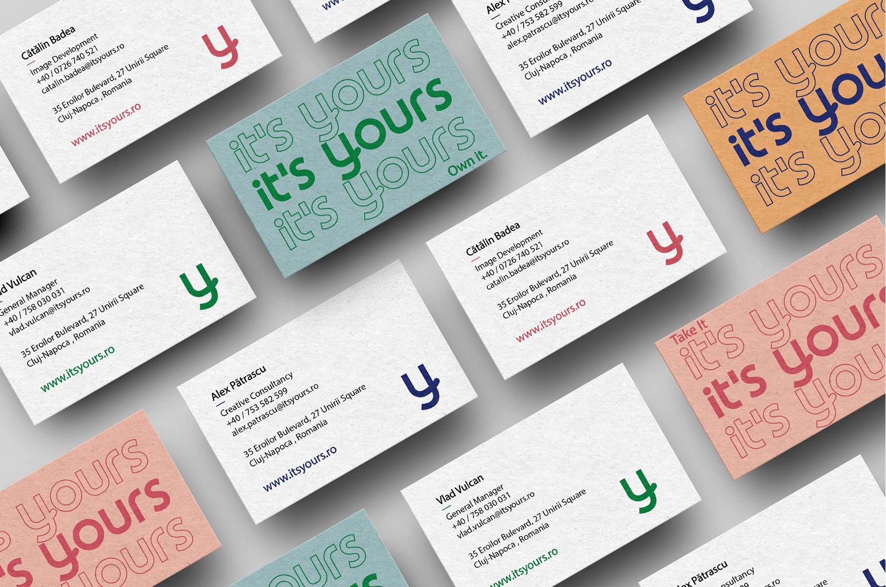 business cards It's Yours