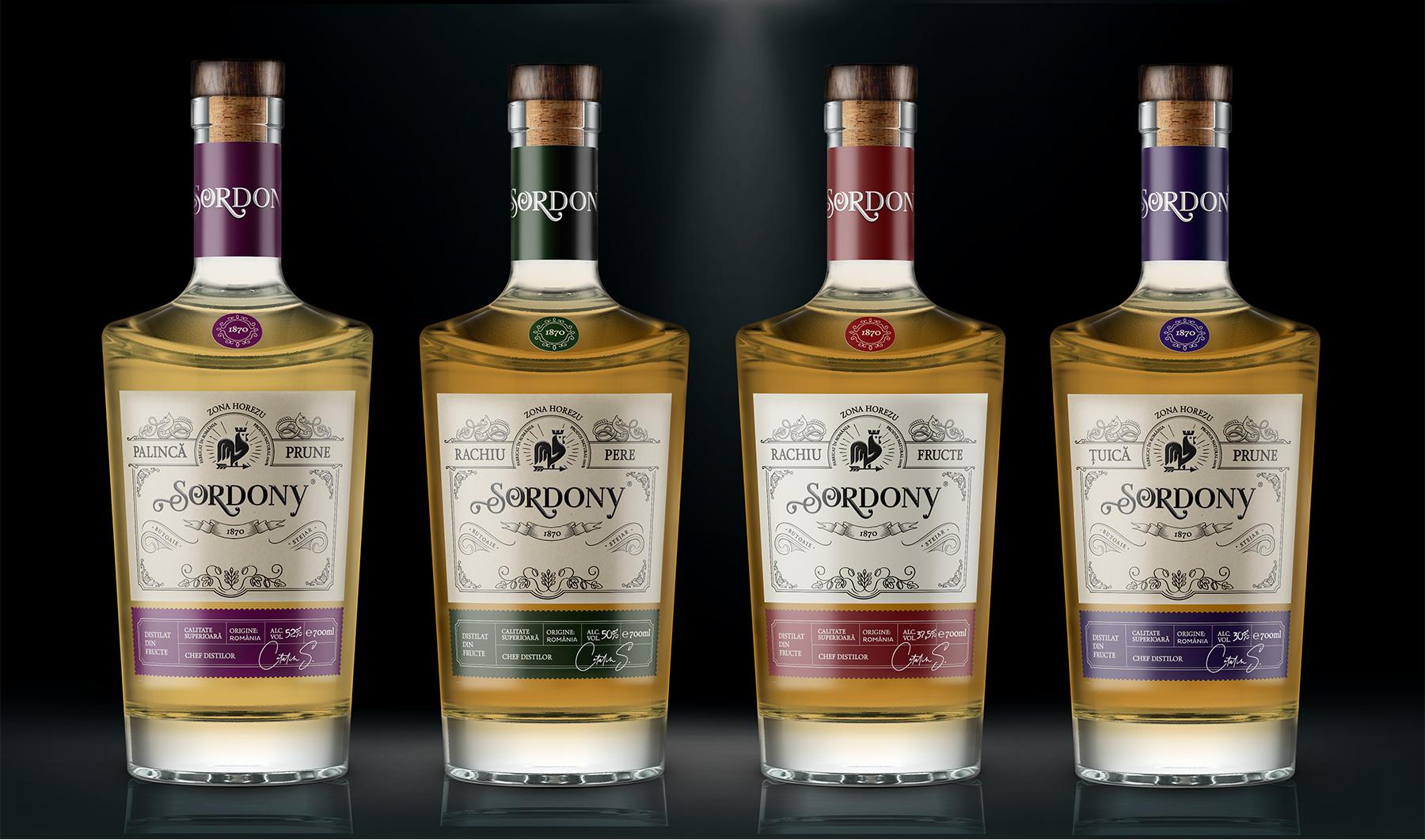 Sordony Label Design Portfolio